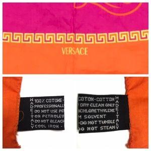 Versace Swim - VTG Versace Half Medusa Sarong Coverup A140355